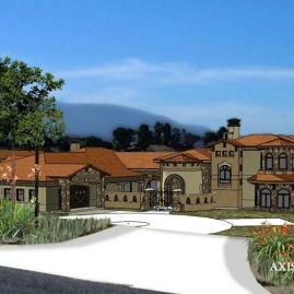 Tuscan Style Villa in Southern California