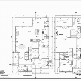 A-1-First-and-Second-Floor-PlansPlans