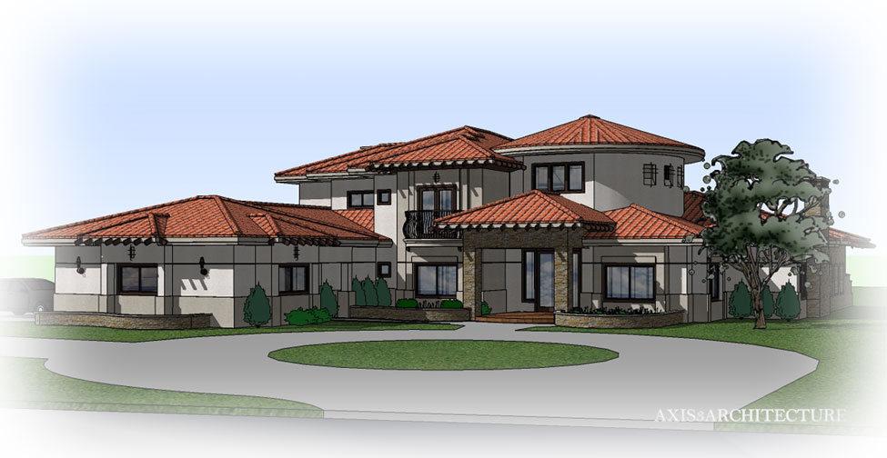Custom home designs rbc construction for Custom home designs california